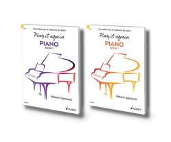 Play it again: PIANO is a progressive two-book course. Published by Schott Music, it is intended for those returning to piano playing after a break: https://en.schott-music.com/play-it-again-piano/
